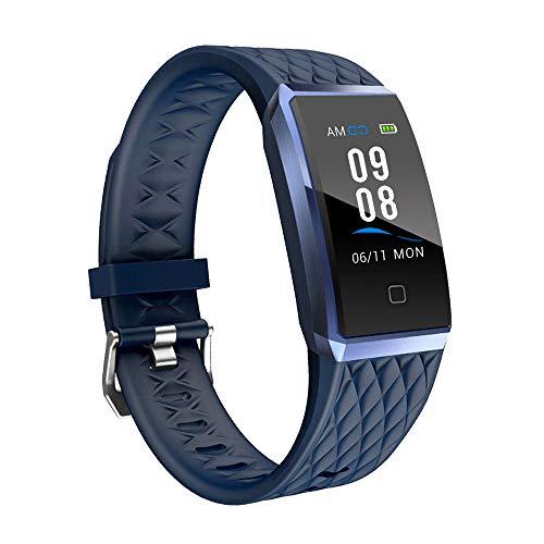 YAMAY Fitness Armband mit Pulsmesser,Wasserdicht IP68 Fitness Trackers Farbbildschirm Fitness Uhr Pulsuhren Aktivitätstracker Smartwatch Schrittzähler Uhr für Damen Herren für iPhone Android Handy
