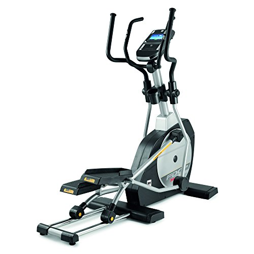BH Fitness FDC 19TFT Magnetic Cross Trainer Black, Silver–Cross Trainers (Magnetic Cross Trainer, 130kg, Home, Indoor, Black, Silver, 48cm)