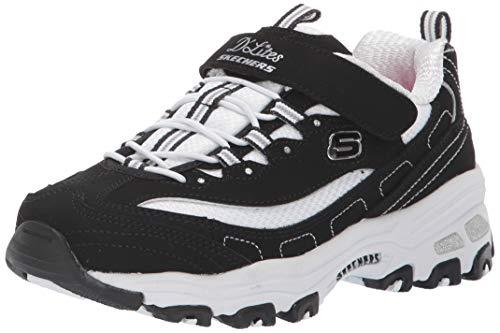 Skechers 80588L BKW Sneaker Niños Negro 35