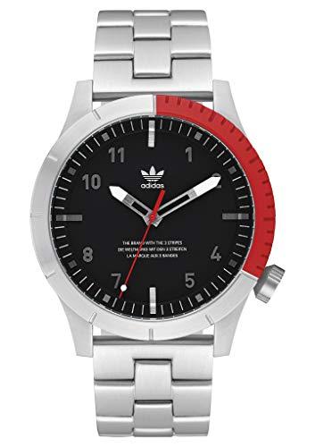 adidas Relojes Hombre Cypher_M1. Pulsera De Acero Inoxidable Sólido 3 Enlace,...