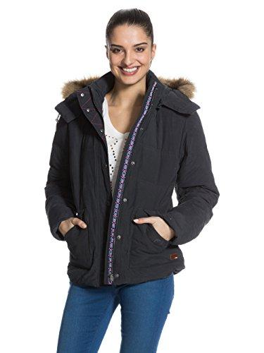 Roxy Damen Under Winter Jacke, Violett (Phantom), 38 (Herstellergröße:Medium)