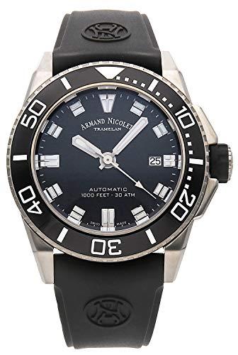 Reloj armand nicolet js9 a480agn-nr-gg4710n automático orologio Uomo...