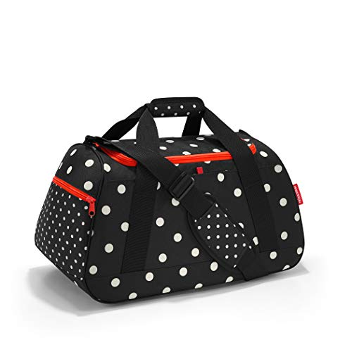 Reisenthel activitybag mixed dots Borsone 54 centimeters 35 Nero (Mixed Dots)
