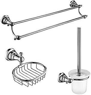 2016 new arrival Elegant bathroom suite H4 3 Pcs Bathroom Accessory Sets,Zinc Alloy, Stainless Steel, Brass Material Chrome Finish,Bath Accessories