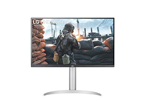 LG 27UP650 UltraHD 4K Monitor 27' LED IPS HDR 400, 3840 x 2160, AMD FreeSync 60Hz, HDMI 2.0 (HDCP 2.2), Display Port 1.4, AUX, Stand Pivot, Flicker Safe, Blanco