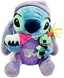 NZ Lilo y Stitch Plush Doll 28Cm Holding Biberón y Scrump Kids Toys para niños Regalos