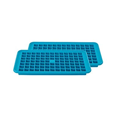 Casabella Mini Cube Tray, Dark Blue, Set of 2