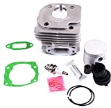 WANWU Kit Cylindre et Piston 52 mm pour tronçonneuse Stihl Husqvarna 362 365 371 372...
