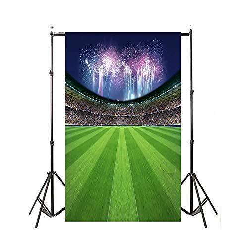 Studio Fotografico Sfondo Fotografico Festa di Compleanno Album Personale Coppa del Mondo Calcio Manifesto per Bambini Prodotto # 342 (Color : Multi-Colored, Size : 210 * 150CM)