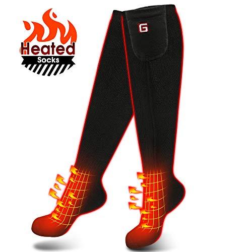 Women Men Heated Socks Rechargeable Heating Socks Electric Socks Sailing L