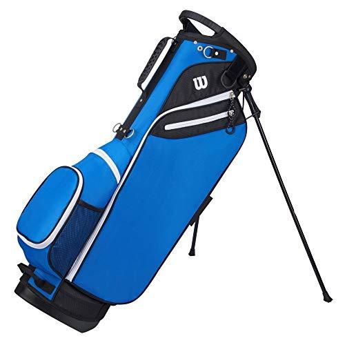 Wilson 'W' Carry Golf Bag, Blue