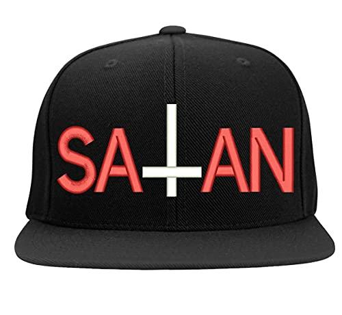 Boné Bordado Satan Baphomet Lucifer
