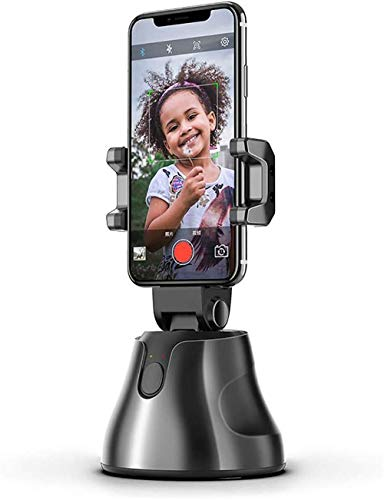 360 Rotation Smart AI Gimbal Personal Robot Cameraman, for Vlog Live Video Record,with Sport Inception Mode Face Object Tracking Motion Time-Lapse