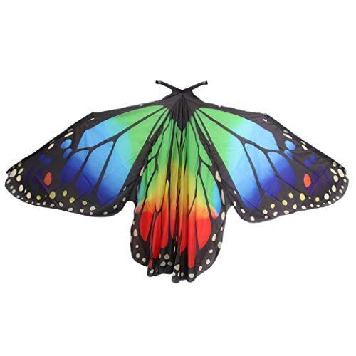 dailymall Ägypten Bauchtanz Belly Dance Schmetterling Flügel Kostüm Verkleidung