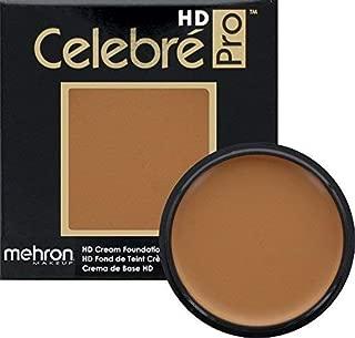 Mehron Makeup Celebre Pro-HD Cream Face & Body Makeup (.9 oz) (MEDUIM DARK 1)
