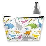 Kosmetiktasche Badezimmer - Lagerung (nahtloses Dinosaurier-Muster)