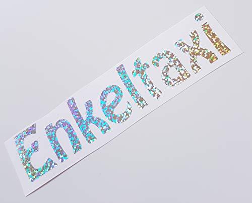 Schönheits Shop Enkeltaxi Silber Farbwechsel Hologramm Effekt Flip Flop Auto Aufkleber Tuning Sticker Bomb Dub JDM Shocker Dapper Illest