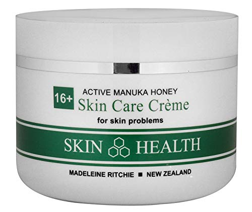 Madeleine Ritchie New Zealand 16+ Active Manuka Honey Skin Care Cream for skin problems. Soothing Moisturizing Eczema Cream Gentle for Adults & Children, 100ml
