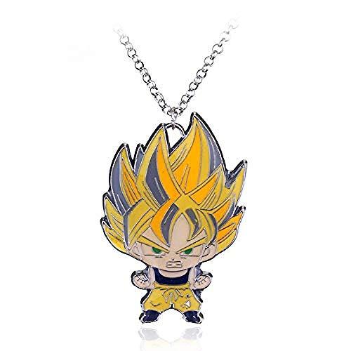 NC110 Anime Schmuck Drache Spielzeug Anhänger Halsketten für Kinder Zubehör Frauen Mann Halskette