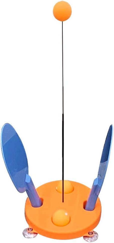 WT-YOGUET - Máquina de entrenamiento de tenis de mesa portátil para niños, adultos, ping-pong, práctica
