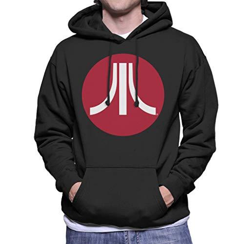 Atari Red Circle Logo Hoodie for Men