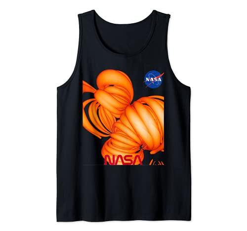 NASA Generado Por Computadora Campo Magnético De Nuestro Sol Camiseta sin Mangas