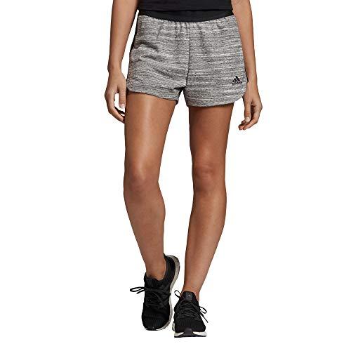 adidas Damen Must Haves Hthr Shorts, Black/Owhite/Black, L