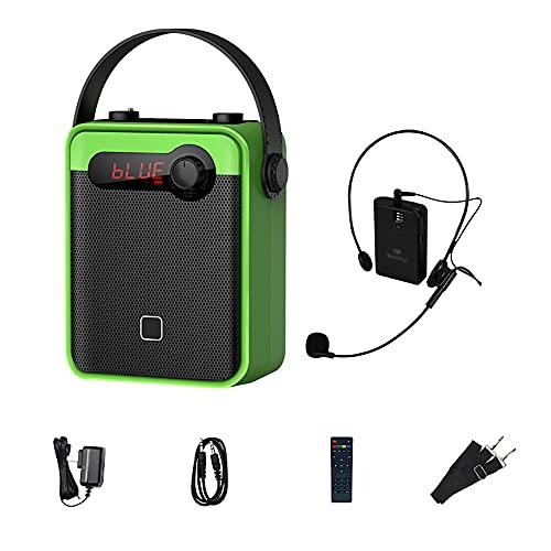 SHOUCAN Bluetooth-Sprachverstärker Buletooth Mit Wireless Und Griff Mikrofon...