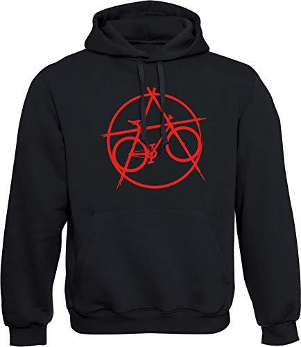 Sudadera con Capucha: : Bicicleta de Anarquía - Regalo para Ciclista-s - Bici Bike Fixie BTT MTB BMX Mountain-Bike Downhill Regalos Deporte - Sweat-Shirt Hoodie Hombre-s y Mujer-es Outdoor (M)