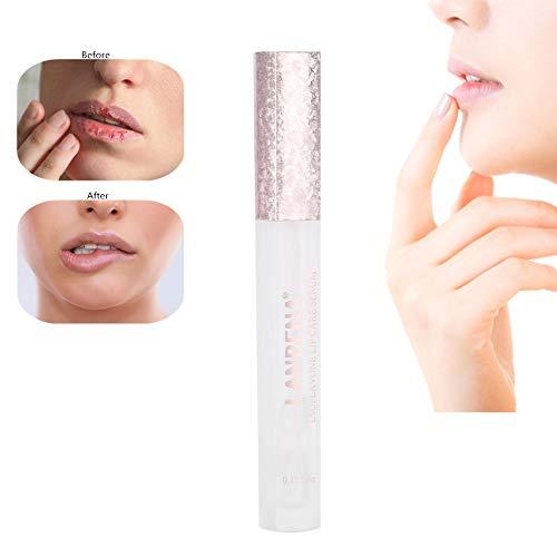 LANBENA Lips Booster Hydrating, Lip Care Essence Enhances Lips Elasticity Moisturizing Lightening Lips Serum