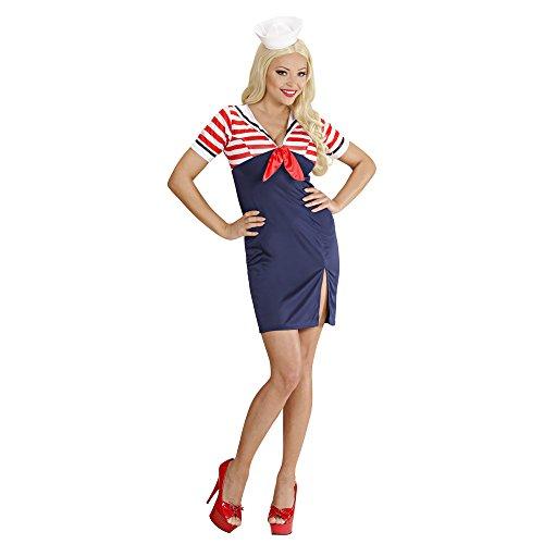 Widmann 75802 Erwachsenenkostüm Sailor Girl, 38