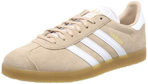 adidas Gazelle, Zapatillas de deporte para Hombre, Blanco (Ash Pearl S18/Ftwr White/Gum 3), 40 EU