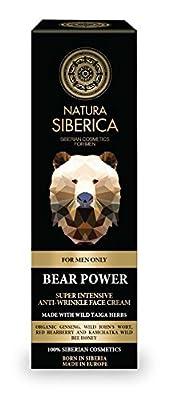 Natura Siberica Bear Power Super Intensive Anti-Wrinkle Face Cream for Men, 50 ml