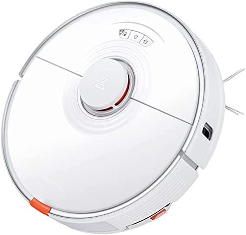 roborock S7 Aspirateur robot 2500Pa 3000 fois/min 5200mAh 470ml conteneur à poussière contrôle app sécurité enfant pour tapis de sol blanc