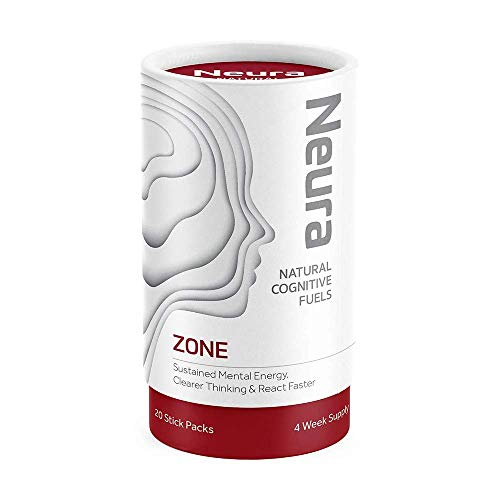Zone by Neura, Ultra-Premium Nootropic Designed to Provide Smooth & sustained Mental Energy Mango & Lime