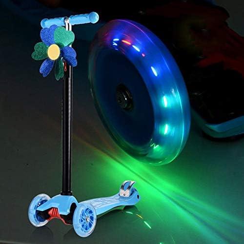 CHERIST 80Mm Led Flash Wheel Mini Or Maxi Micro Scooter Flashing Lights Back Rear ABEC-7
