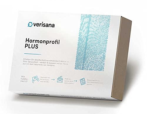 Verisana Hormonprofil PLUS | 6 Sexual- und Stresshormone in einem Hormontest | Umfassende Analyse | Einfach & schnell per Speicheltest