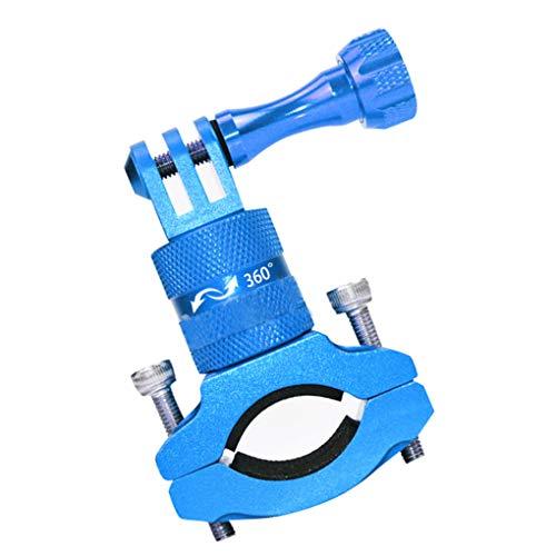 Aluminium Camera Mount Fiets Voorstang Stuur Zadelpen Camerahouder Ondersteuning 360 graden rotatie