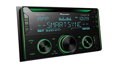 Pioneer FH-S720BS Double DIN CD Receiver with Enhanced Audio Functions, Improved Pioneer ARC App Compatibility, MIXTRAX, Built-in Bluetooth, and SiriusXM-Ready