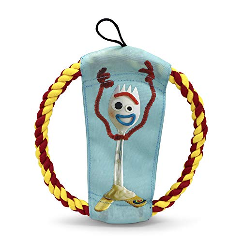 Hyper Pet Disney Toy Story 4 Forky and Woody Rope Flyer Dog Toy