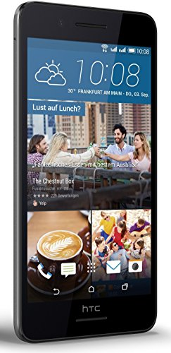 HTC 99HAFN015-00 Desire 728G Smartphone (4G, Android) meteorgrau