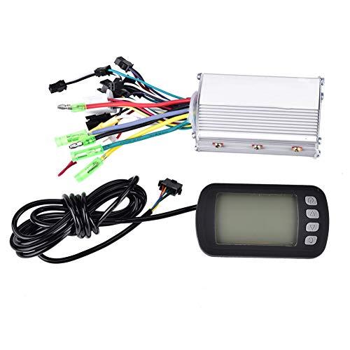 Keenso motorbesturing, borstelloos, voor elektrische fiets, 36 V/48 V, 350 W, met omgekeerd display + LCD