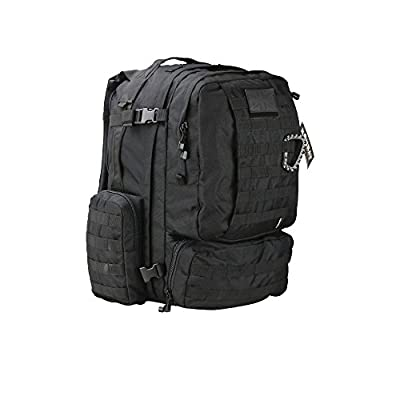 Kombat Unisex Outdoor Viking Patrol Pack Backpack available in Black - 60 Litres from Kombat UK