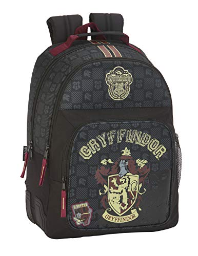 Harry Potter Mochila Doble con Cantoneras Adaptable Carro  Multicolor