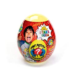 Based on Ryan's World, one of the most popular kids YouTube channel on the planet Kids can be just like Ryan from Ryan Toys Review when they unbox their Giant Mystery Egg from Bonkers Toys Giant egg is filled with surprises including 1 of 3 new vehic...
