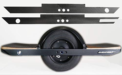 Decal Concepts Side Rail Wrap Decals for Onewheel Board Scooter (Carbon Fiber)