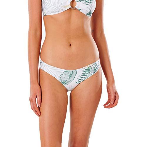 Rip Curl Coastal Palms Cheeky Hipster - Bikini para mujer blanco XS