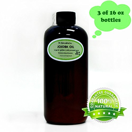 JOJOBA OIL Golden Pure & Organic You Pick Size (48 oz/3 Pint)