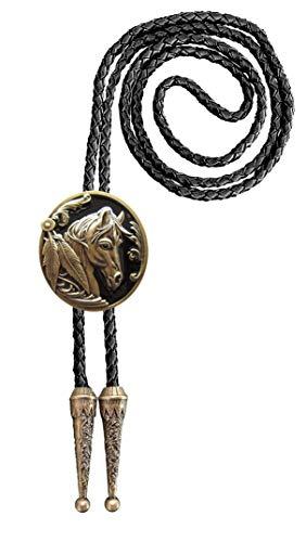 Urban Backwoods Horse I Bolotie Western Country Bolo Tie