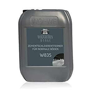 Eliminador de velo de cemento Solado de hormigón Quitacementos Removedor W835-5L